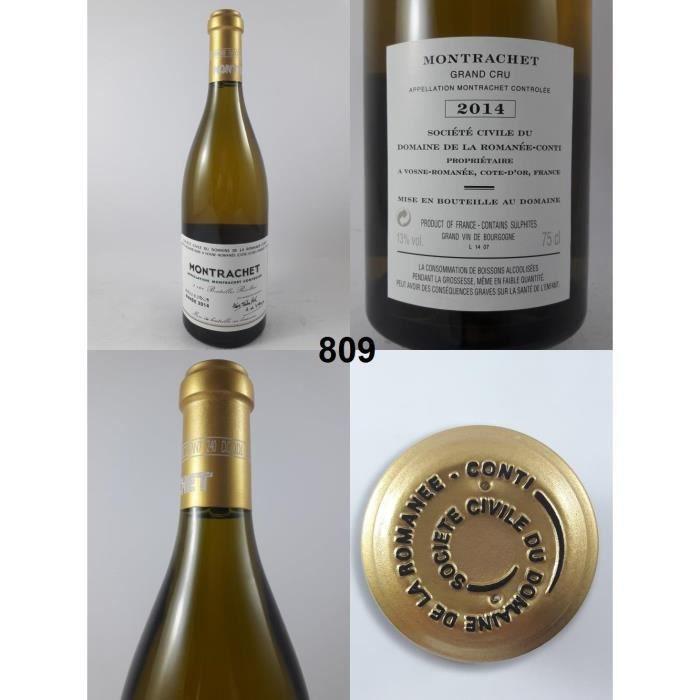 Montrachet - Domaine de la Romanée-Conti 2014 - N° : 809, Montrachet, Blanc