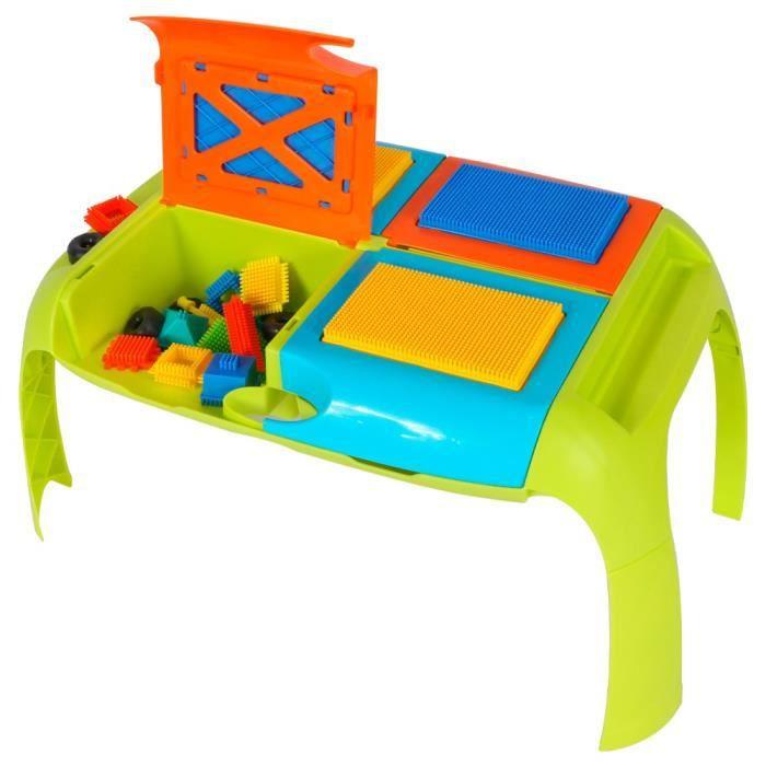 Bloko - Table de construction avec 30 Bloko - Jouet de construction - Dès 12 mois