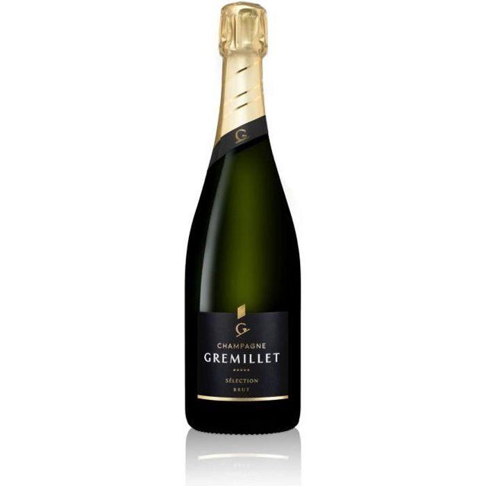 Sélection Brut - Champagne Gremillet - Champagne 75cl - CHAMPAGNE - Haute Valeur Environnementale