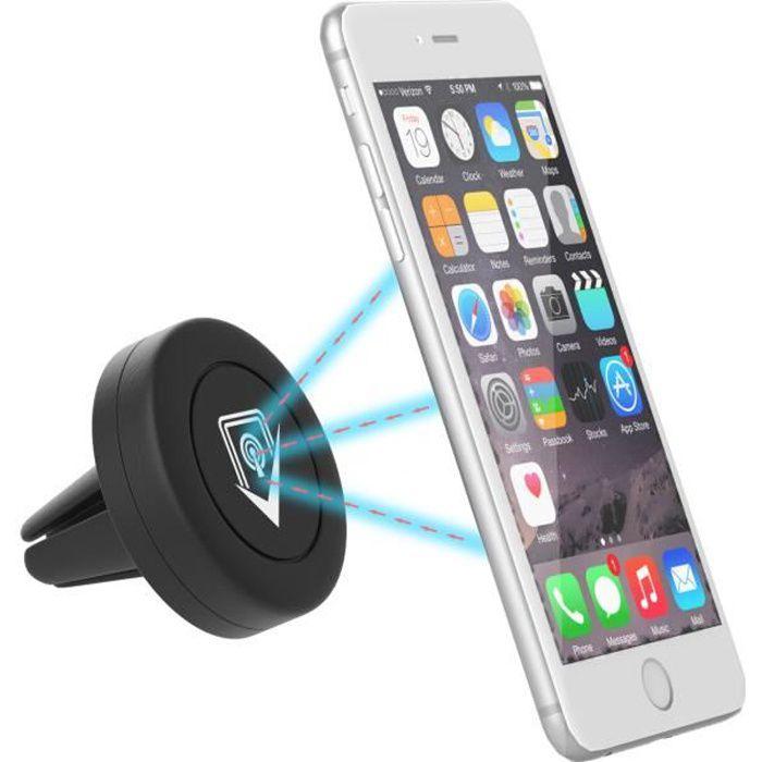 VeoPulse Support téléphone voiture tous smartphones confondus - IPHONE SAMSUNG WIKO HUAWEI SONY NOKIA - Maintien garanti