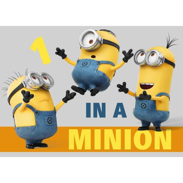 MINIONS Tapis One In A Minion