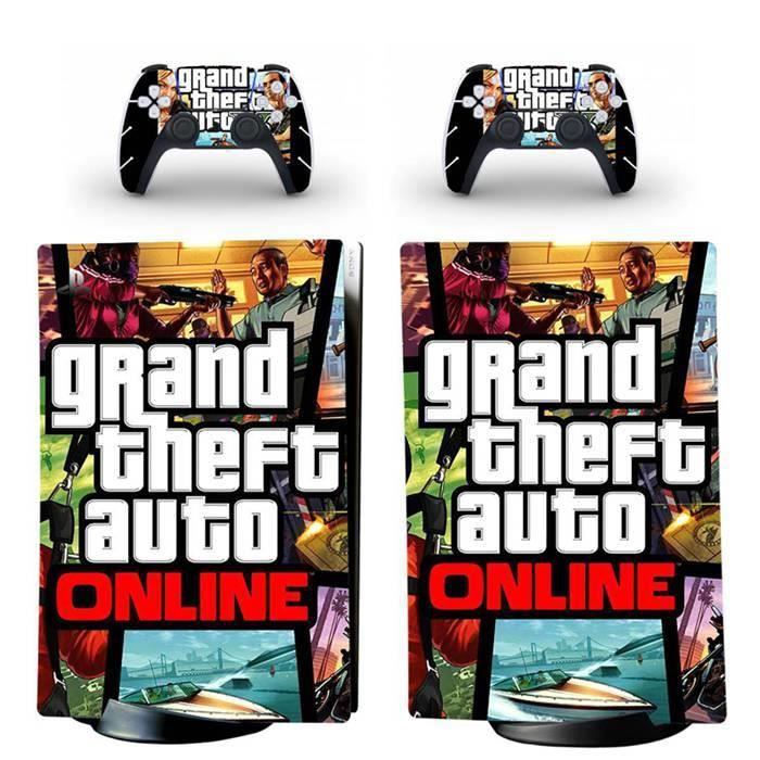 GTA V Online,PS5 sticker Protection peau Dissipation thermique étanche Playstation 5 Digital Edition skin