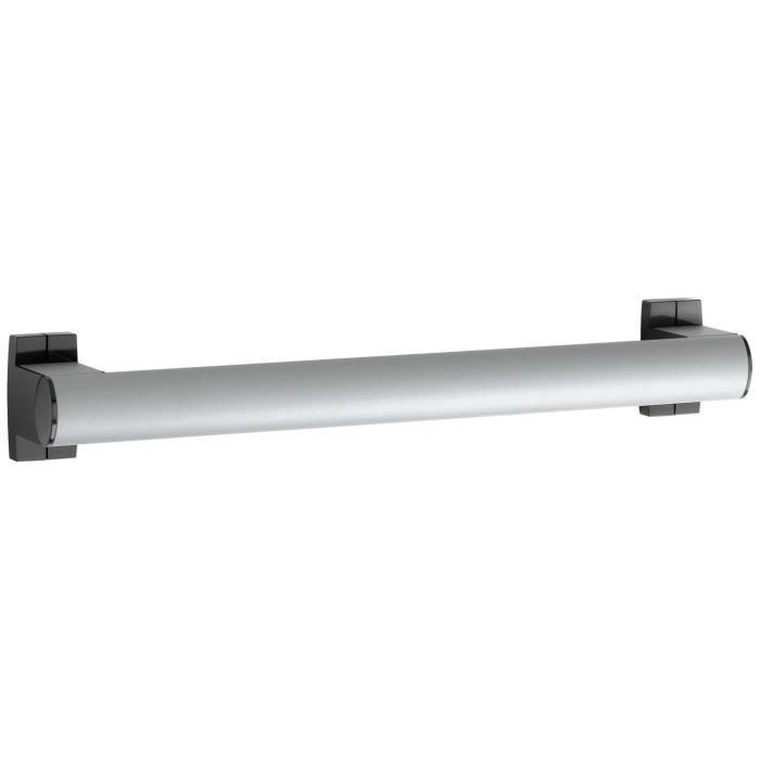GODONNIER - Barre droite 40 cm alu époxy gris caches résine