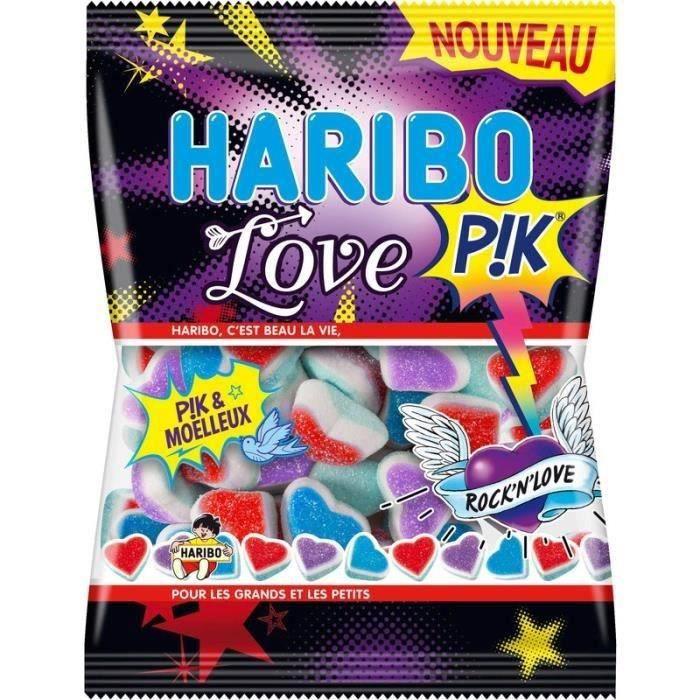 HARIBO Bonbons Love Pik - 225 g