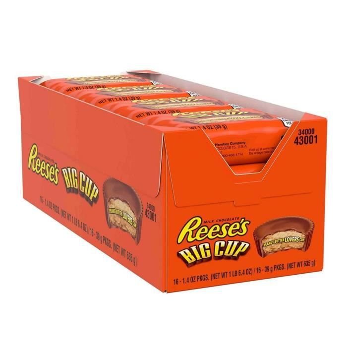 HERSHEY'S REESE'S Big Cup - 39g x 16