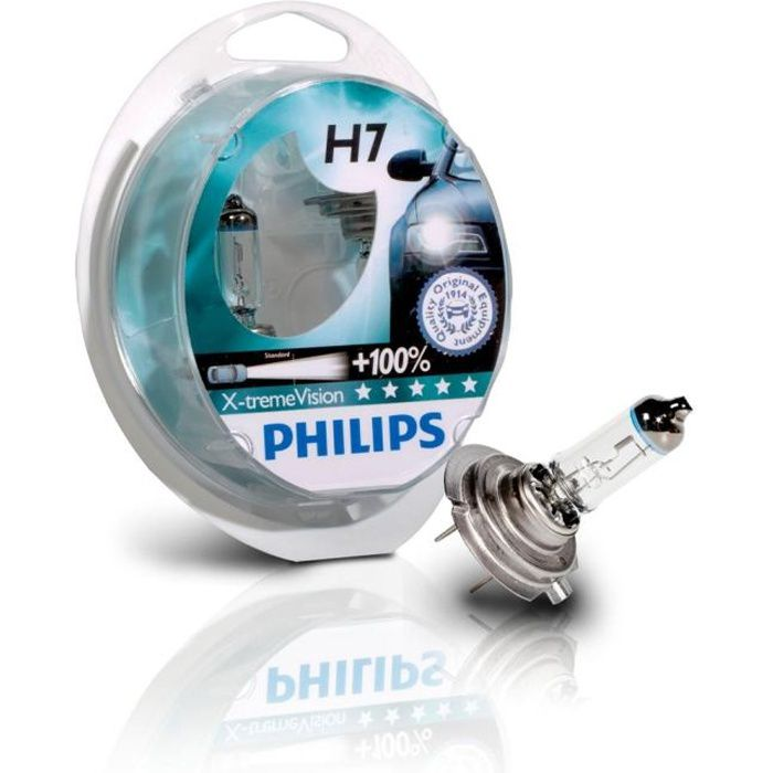 PHILIPS 2 H7 XTREM VISION60/55W