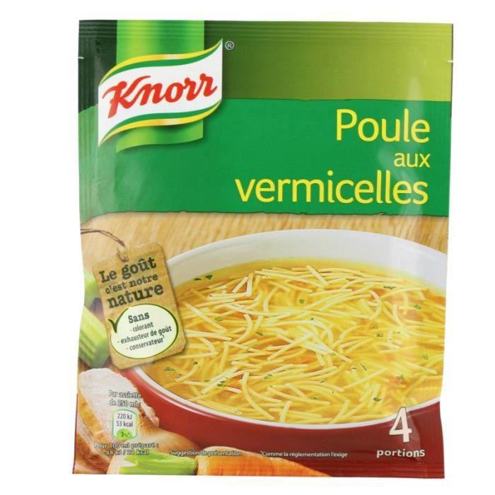 Knorr Soupe de poule aux vermicelles 4 assiettes