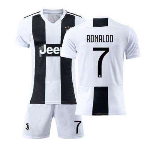 Juventus No. 7 Cristiano Ronaldo Maillot et Shorts de football Homme
