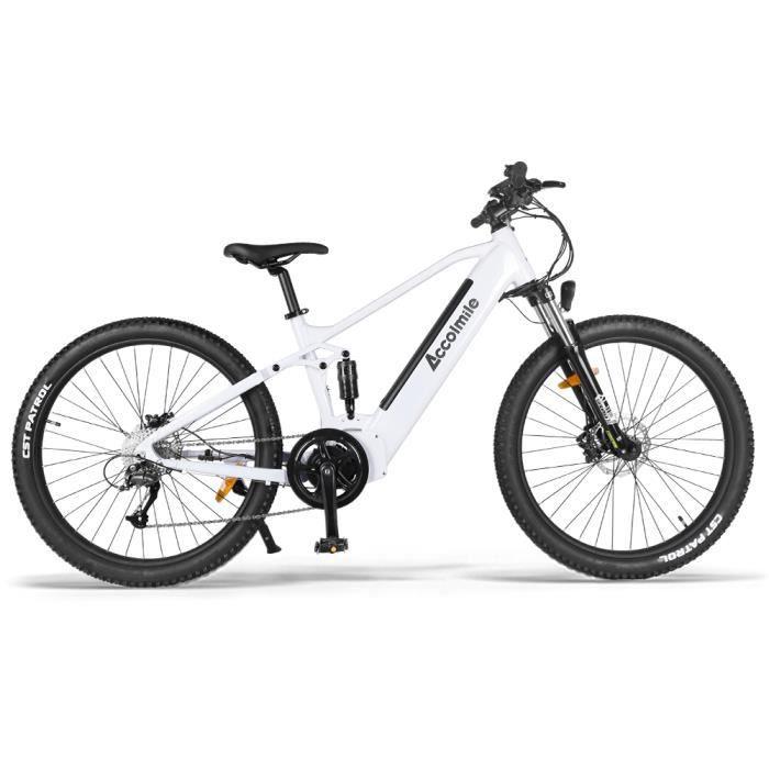 ACCOLMILE Vélo à assistance électrique 750W avec BAFANG Moteur pédalier et LG Batterie 48V Cellules 18650