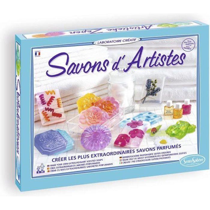 SENTOSPHERE Kit Savon D'Artistes