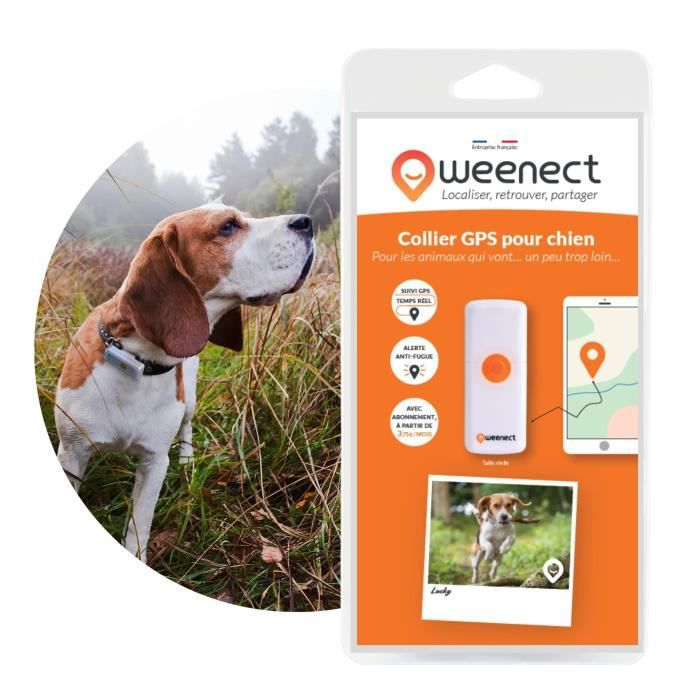 WEENECT Dogs 2 - GPS pour chien