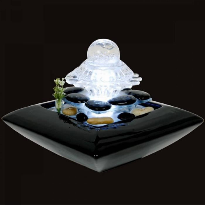 Fontaine galets zen achat vente fontaine int rieure for Fontaine interieure zen