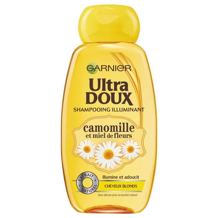 SHAMPOING GARNIER Shampoing Ultra doux - Camomille et miel d