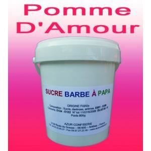 sucre barbe papa pomme d 39 amour 1000g achat vente confiserie de sucre sucre barbe. Black Bedroom Furniture Sets. Home Design Ideas