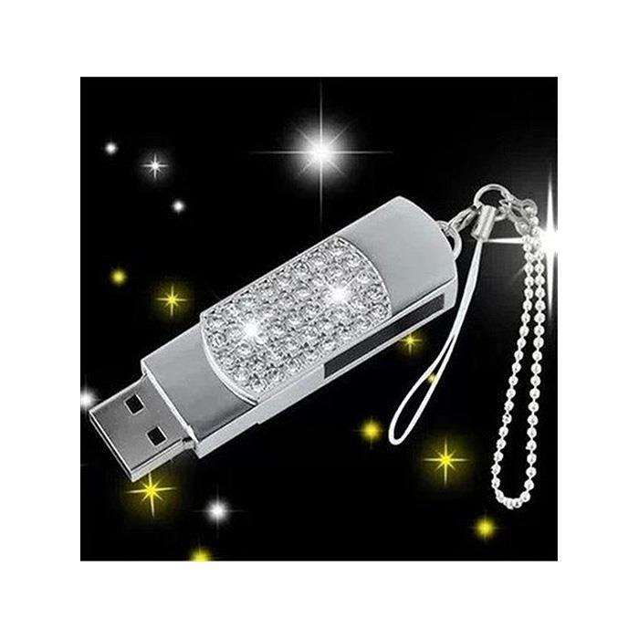 Crayon Noir 16Go USB 2.0 Clé USB Clef Mémoire Flash Data Stockage