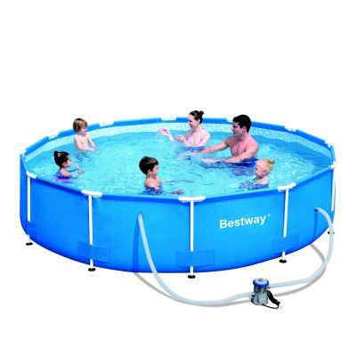 Piscine tubulaire bestway 3 66 x 0 76m achat vente kit for Piscine tubulaire bestway