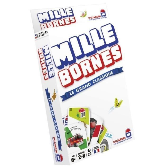 mille bornes le classique format poche achat vente cartes de jeu cdiscount. Black Bedroom Furniture Sets. Home Design Ideas