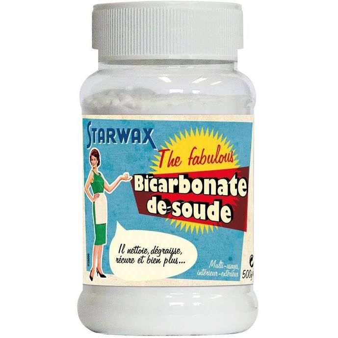 bicarbonate de soude starwax 500 g achat vente nettoyage salle de bain bicarbonate de. Black Bedroom Furniture Sets. Home Design Ideas