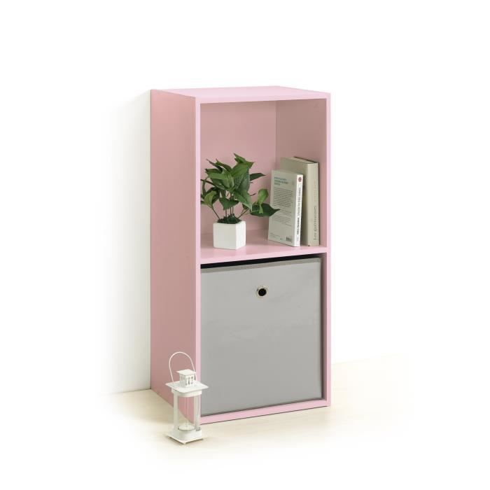 meuble cube rose achat vente pas cher. Black Bedroom Furniture Sets. Home Design Ideas