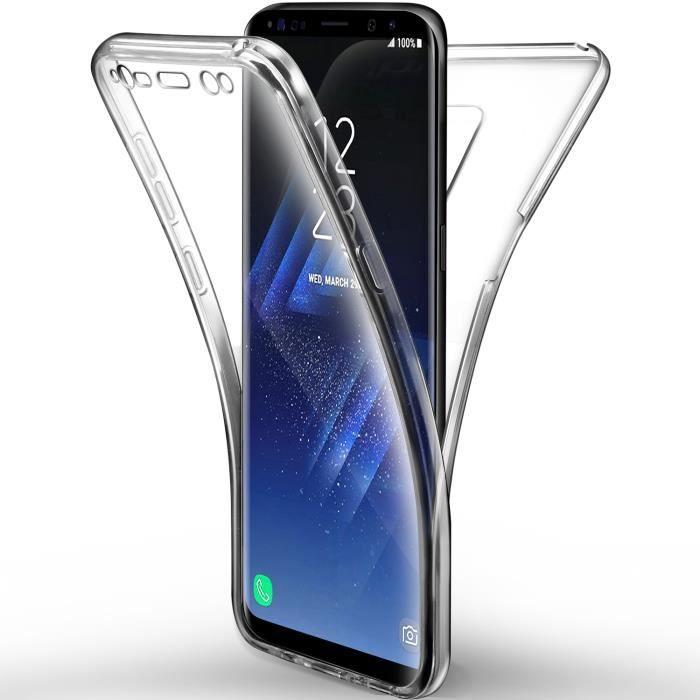 Coque Samsung Galaxy s9,Silicone Gel Case Avant et