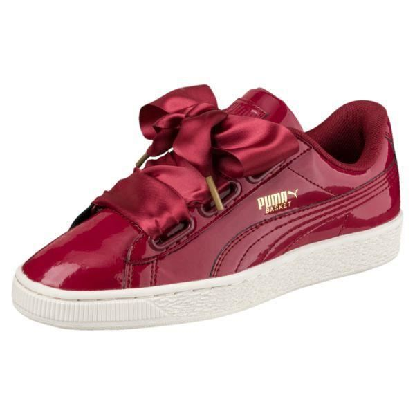 PUMA BASKET HEART red taille 38