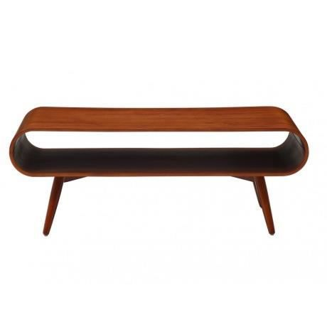 Table basse vilda pieds noyer coloris noyer achat for Table basse scandinave noyer