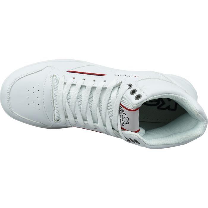 Kappa Mangan 242764-1020 sneakers pour homme Blanc