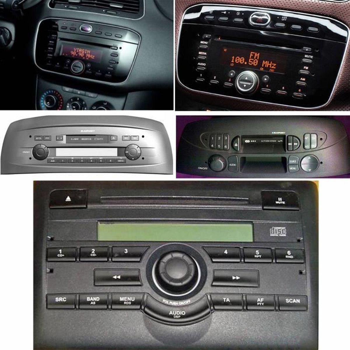 Fiat Grande Punto st/ér/éo de voiture Pioneer radio avec lecteur CD MP3/USB avant aux in