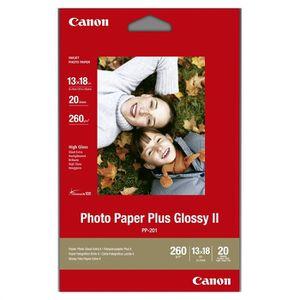 PAPIER PHOTO Canon PP-201 20 feuilles 13x18 260g