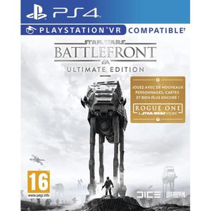 JEU PS4 Star Wars Battlefront Edition Ultimate Jeu PS4