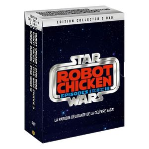 DVD FILM DVD Robot Chicken - Star Wars - Episodes I et II e