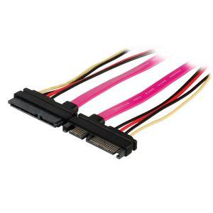 CÂBLE E-SATA Câble de données SATA 3 Gbits-s à connecteur SATA