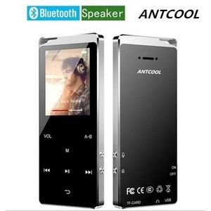 LECTEUR MP4 Bluetooth  Lecteur de Musique 16 Go MP4 avec Haut-