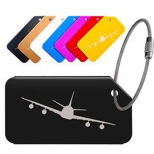 VALISE - BAGAGE Tags bagages pour Aluminium Conception Avion durab