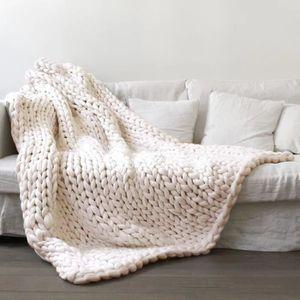 Grosse laine couverture