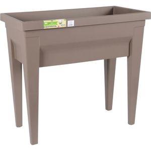 CARRÉ POTAGER - TABLE EDA Espace potager avec table City Veg&Table - pla