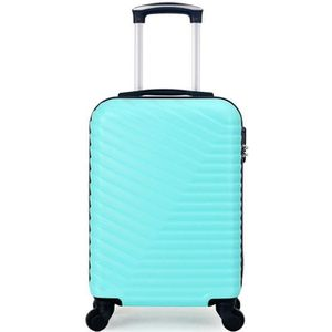 VALISE - BAGAGE VALISE CABINE | ABS – 50cm – 4 roues – LENA-E – VE