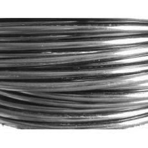 Vaessen 10 M/ètres Fil Aluminium Noir 4mm