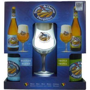 BIÈRE Coffret Queue de Charrue 2x75cl + 1 verre