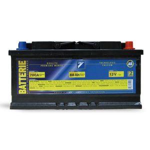 BATTERIE VÉHICULE Batterie 12V 88AH 700A (EN) : Auto7