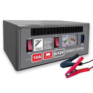 CHARGEUR DE BATTERIE Auto7 708955 chargeur de batterie 10A 6/12V de 10A