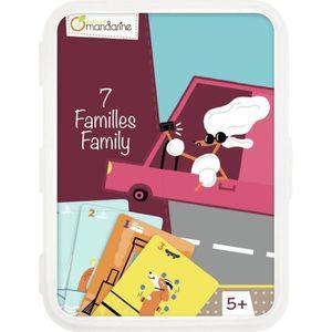 CARTES DE JEU Jeux de Cartes Jeu des 7 Familles