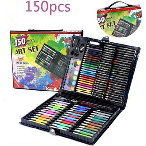 CRAYON DE COULEUR 150 Outils de peinture Coffret  cadeau Enfant -Cra