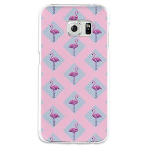 coque samsung s6 edge plus flamand rose