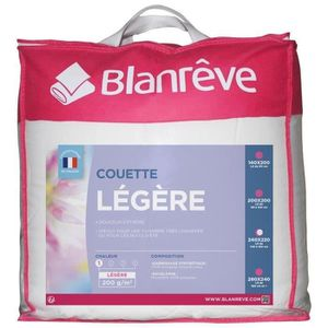 COUETTE BLANREVE Couette légère en microfibre - 220 x 240