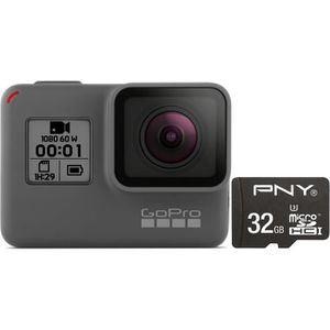 PACK CAMERA SPORT GO PRO HERO 2018 écran tactile + Carte Mémoire Mic