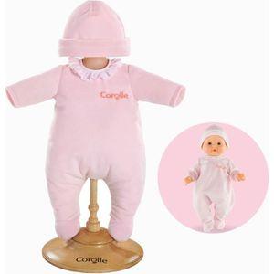 ACCESSOIRE POUPON mon grand poupon COROLLE Pyjama Rose pour Poupon 3