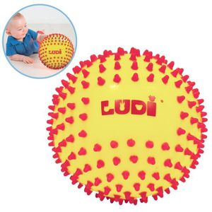 BALLE - BOULE - BALLON LUDI Balle Sensorielle Bicolore - Diamètre 15 cm