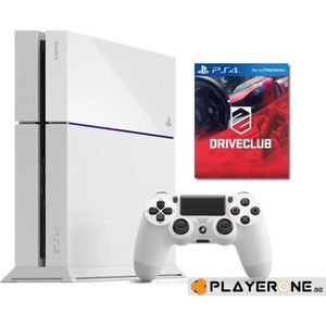 CONSOLE PS4 PS4 - 500 GB - BUNDLE Driveclub (White) -