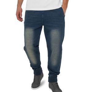 SURVÊTEMENT Urban Classics - DENIM Bas de joggings indigo ston